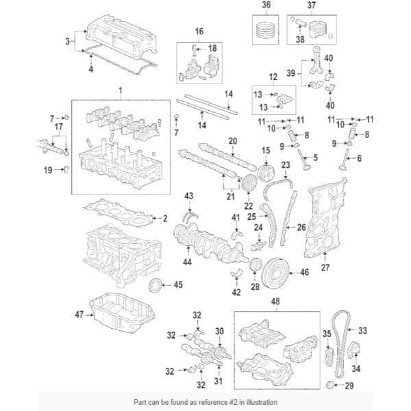Honda Oem K24 Head Gasket
